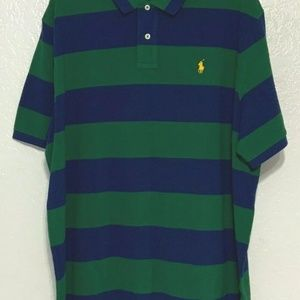 Polo Ralph Lauren Men Classic Fit Mesh Polo 133